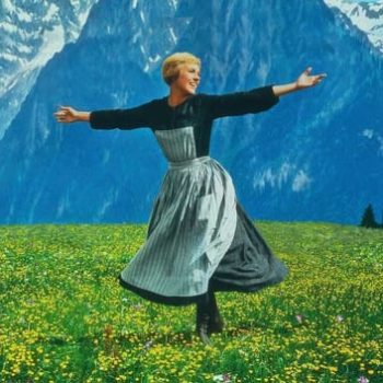 "Julie Andrews explains how they filmed that famous meadow scene in ""The Sound of Music"""