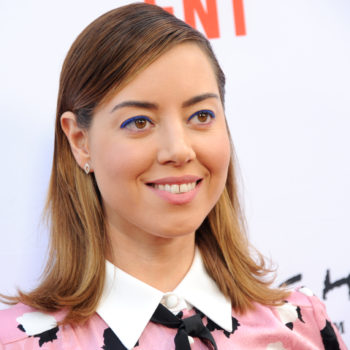 Aubrey Plaza has some strong opinions about typing in all caps and sexting