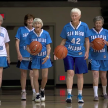 Meet the San Diego Splash, an inspiring team of 80-year-old female basketball players