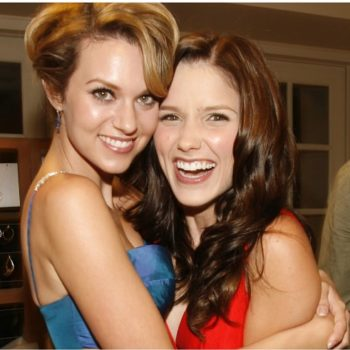 "Sophia Bush posted the cutest birthday message for her ""One Tree Hill"" BFF Hilarie Burton, and #Breyton4eva"
