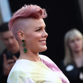 Pink almost missed a show after getting trapped in an elevator