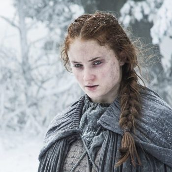 """Forget Queen of the North — Sansa's the Queen of Side Eye in this latest """"Game of Thrones"""" image"""