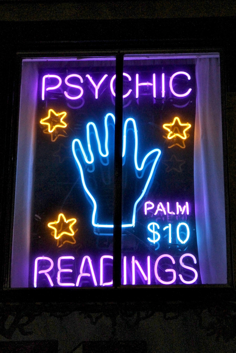 My frequent psychic visits made me realize I had the ...