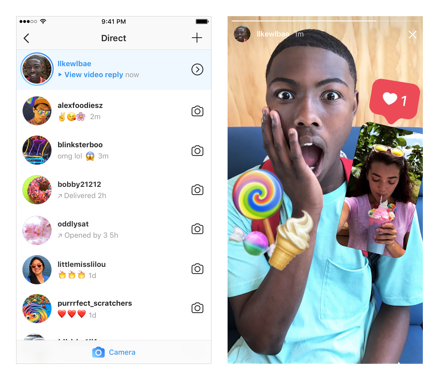 Instagram will let you reply to stories with a photo or video