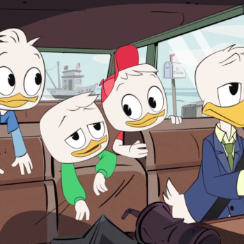 """Danny Pudi spills some """"DuckTales"""" spoilers, and we're both excited and a little bit nervous"""
