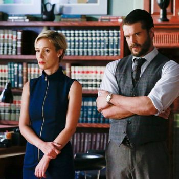 """Charlie Weber finally talks about what it's like dating """"How To Get Away With Murder"""" co-star Liza Weil"""