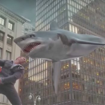 "Zip up your wetsuit, because ""Sharknado 5"" is coming soon and we're freaking out over the cast of guest stars alone"