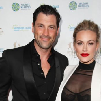 """Dancing With The Stars"" couple Peta Murgatroyd and Maksim Chmerkovskiy just got married – in a castle!"