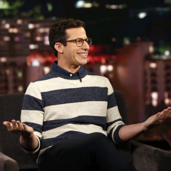 """Aww, Andy Samberg just gushed about how much he loves his """"Brooklyn Nine-Nine"""" family"""