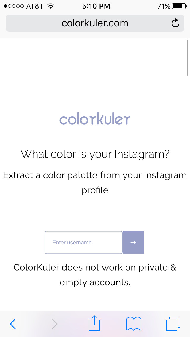 You can now figure out your Instagram color palette ...