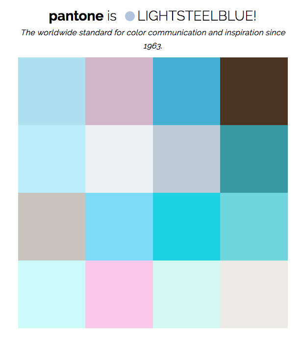 Instagramcolorpalettepantone on Light Blue And Gray Color Scheme