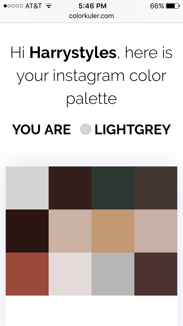 You Can Now Figure Out Your Instagram Color Palette Thanks To This