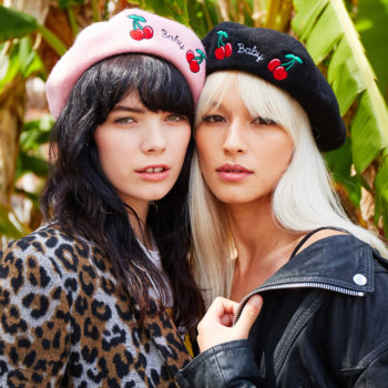 Valfré just released berets so you can live your French fantasy
