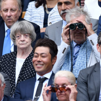 Maggie Smith and Ian McKellen are busy living their best lives at Wimbledon