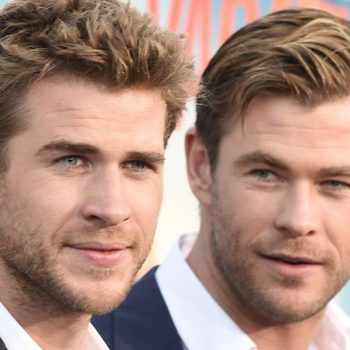 Chris Hemsworth roasted his brother Liam for wearing short-shorts on Instagram