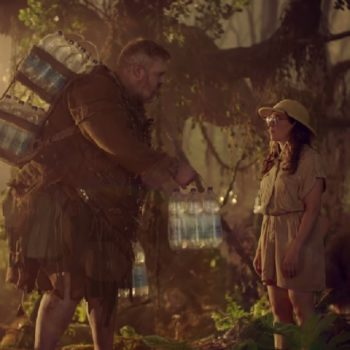 """Hodor from """"Game of Thrones"""" and Mayim Bialik travel to the future in this funny SodaStream ad"""