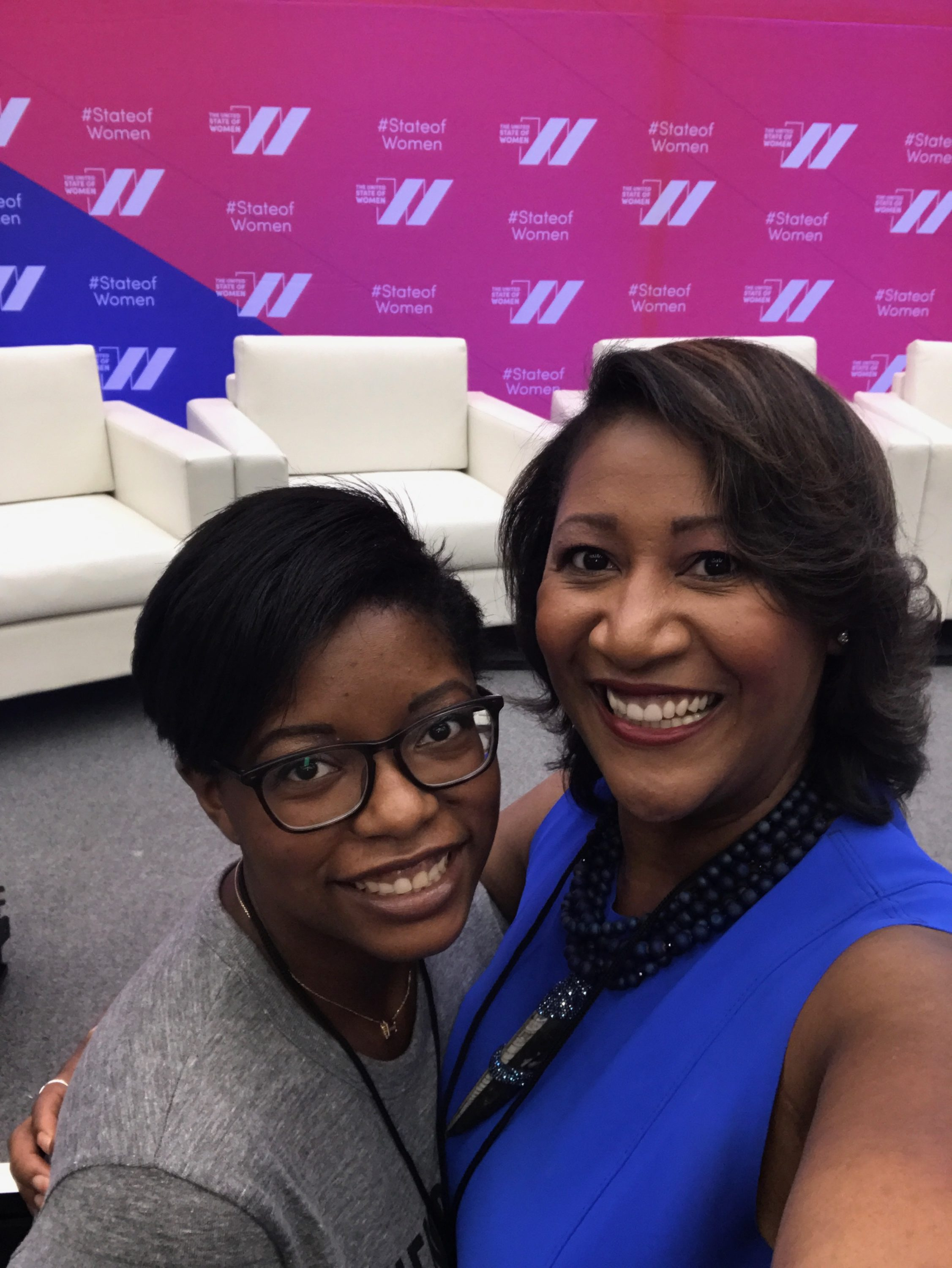 With Dorri McWhorter, CEO of YWCA Chicago