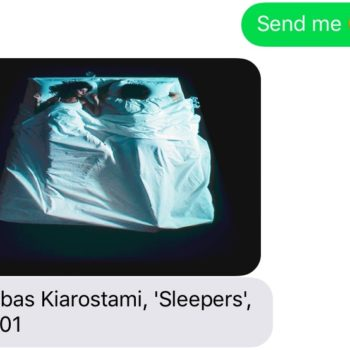You can text this museum and receive art that's handpicked for your mood