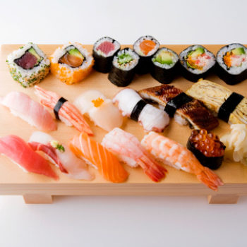 Japan's sushi-delivering robots will hit sidewalks next month, so brb, moving to Japan