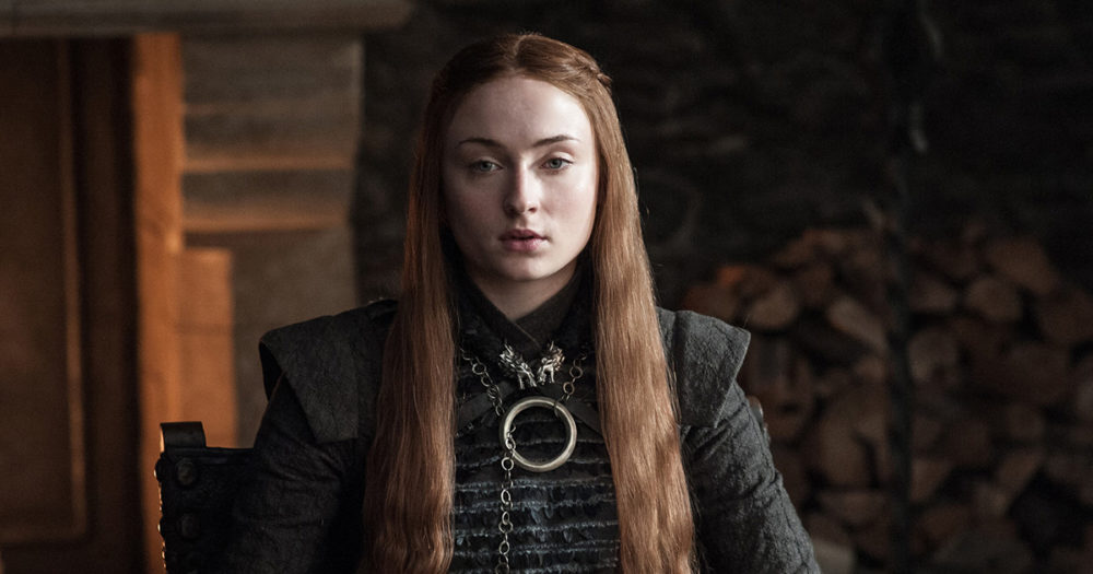 "Sophie Turner got real about Sansa Stark's wig: ""My hair would've fallen out"""