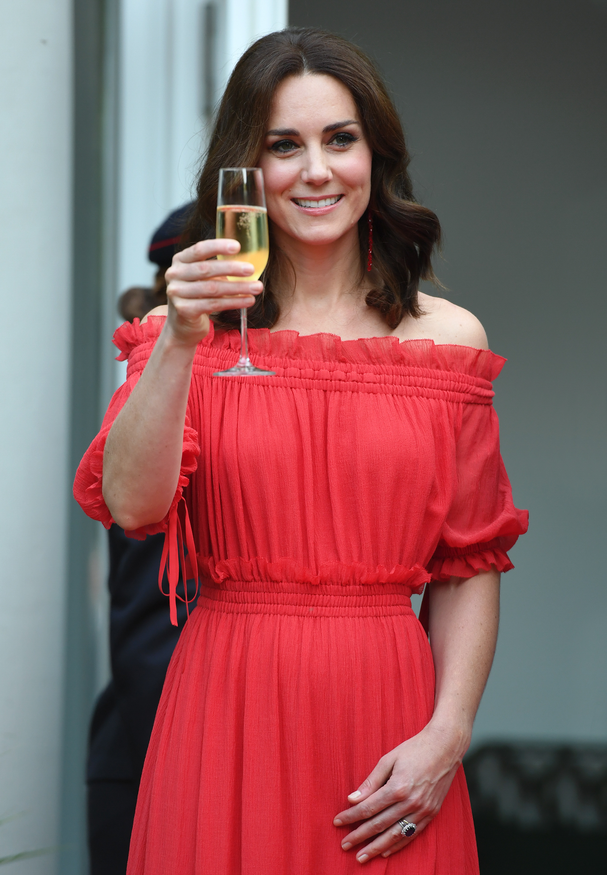 Kate red dress