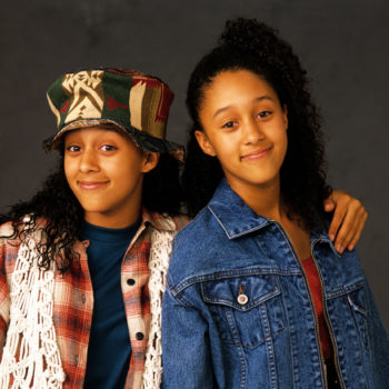 """Tamera Mowry-Housley says they're hard at work making the """"Sister, Sister"""" reboot happen"""