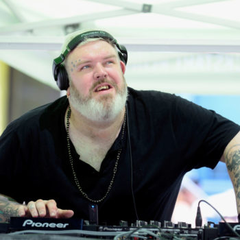 """Hodor DJ'd a pool party in Vegas while the rest of us were watching """"Game of Thrones"""""""