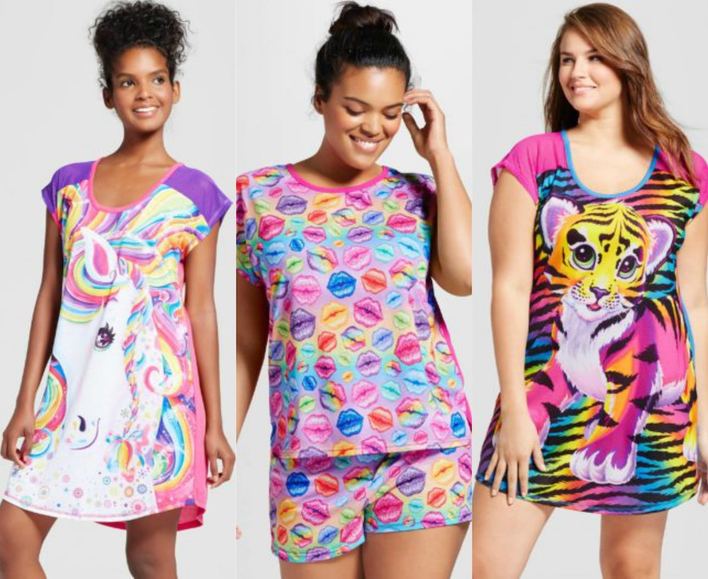Lisa Frank X Target is a 90's Inspired Pajamas Collection forecasting