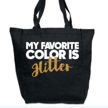 "This bag accidentally spells the word ""Hitler"" instead of ""glitter,"" and people are not happy"