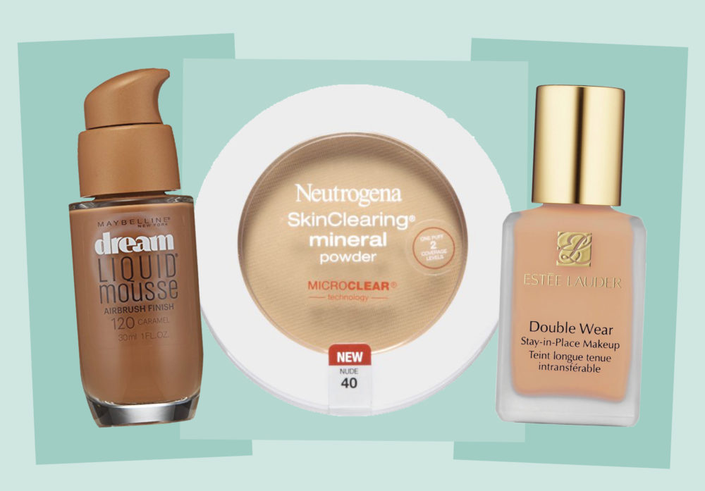 Here are the best foundations to buy on Amazon right now