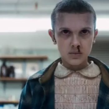 "There's something mysterious about Eleven's hair in the ""Stranger Things"" Season 2 trailer"