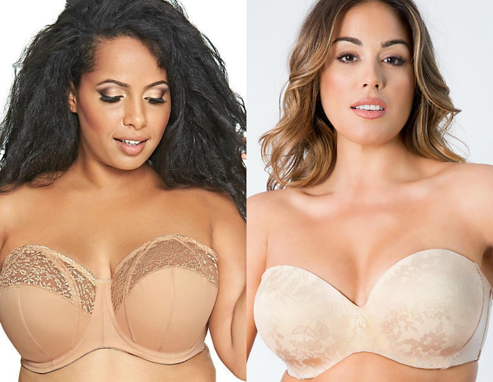 Strapless bras for big boobs exist, and we're adding these 13 to our lingerie drawer