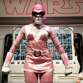Lupita Nyong'o went undercover at Comic-Con as the Pink Ranger, is the hero we deserve