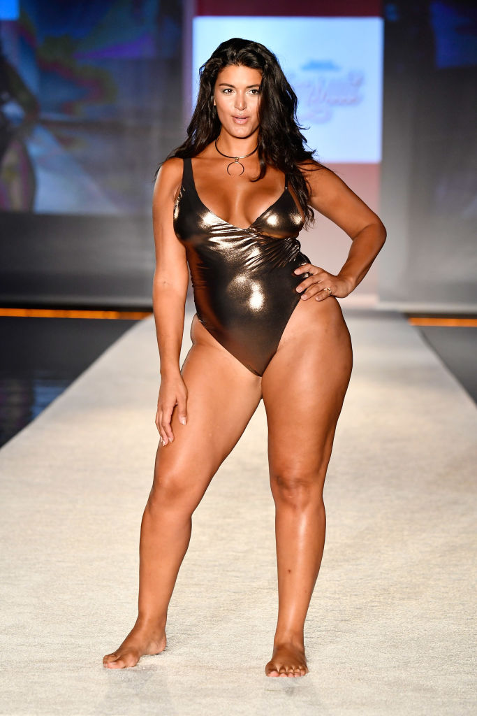 b8b77e8ec5e6e All the yes  Sports Illustrated is getting into plus-size swimwear ...