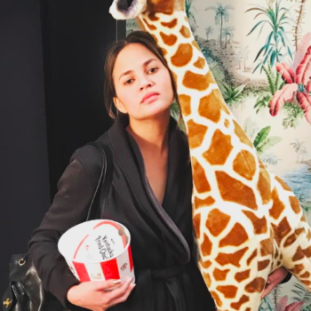 Chrissy Teigen is totally unbothered by Donald Trump's Twitter block