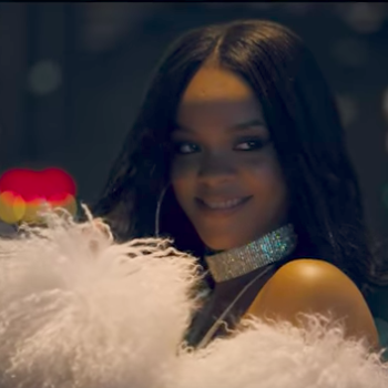 """Rihanna is serving up summer sexiness in the video for """"Loyalty,"""" and here's where to get her exact dress"""