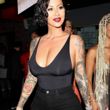 Amber Rose asks her Instagram followers for advice on getting breast reduction surgery