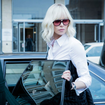 """Charlize Theron kicks ass in """"Atomic Blonde"""" — without sacrificing her style"""