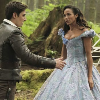 "Here's the super simple explanation behind the *new* Cinderella in ""Once Upon a Time"""