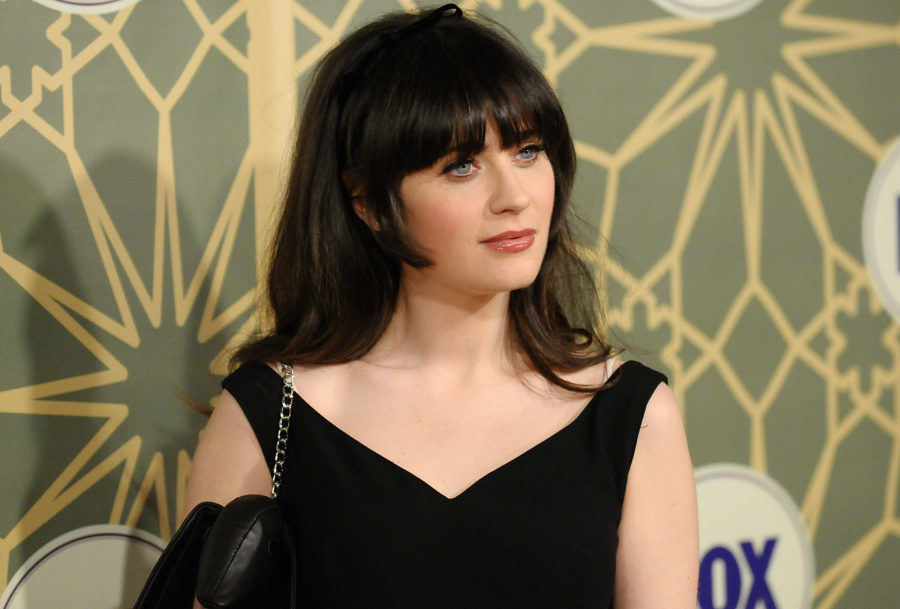 Zooey Deschanel Forehead Ways to keep your bang...