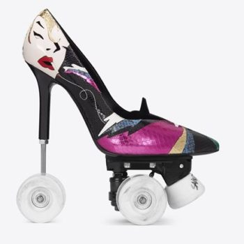 This designer just made stiletto roller skates, so you can slide into DMs in style