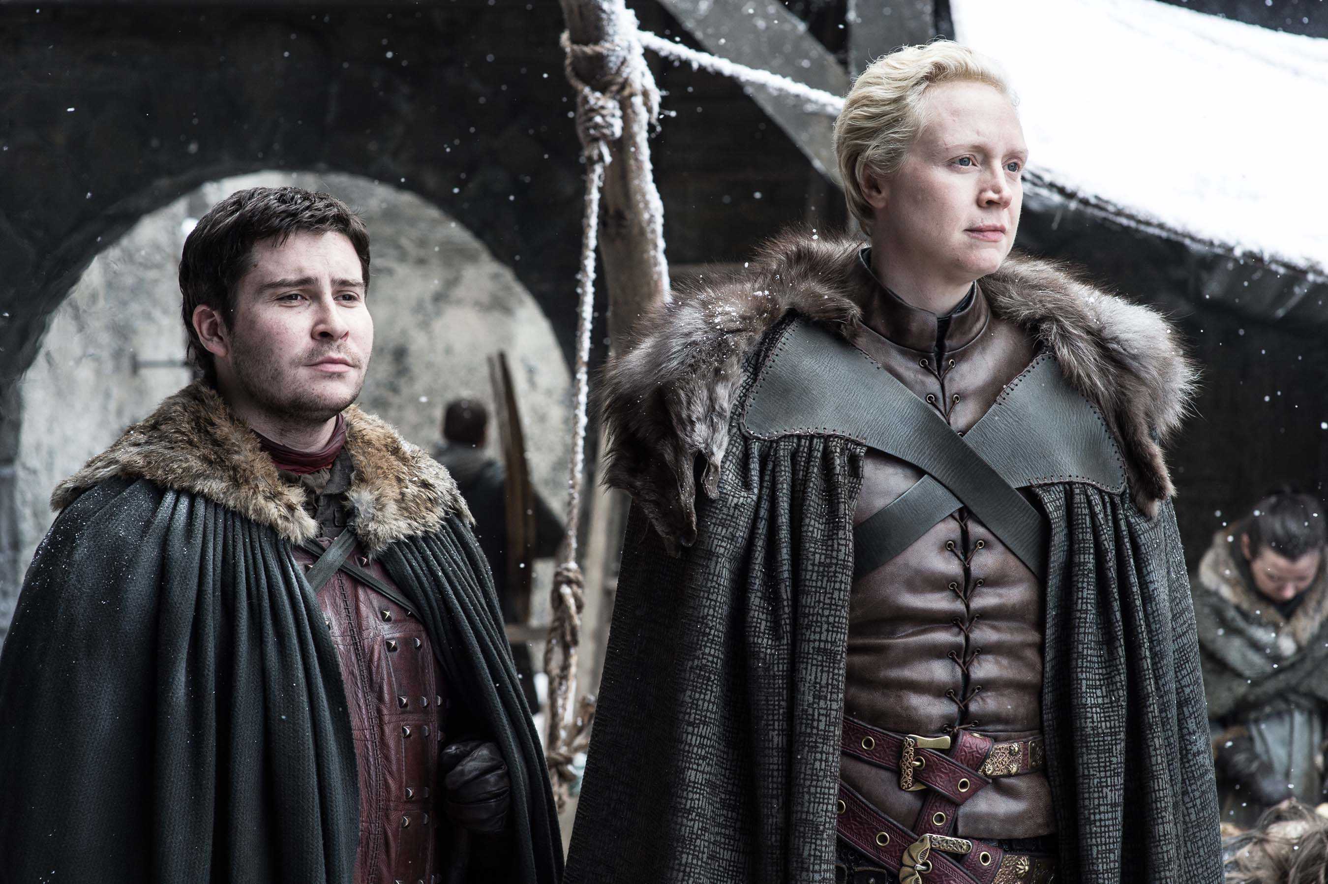 Pod and Brienne Game of Thrones Season 7 Episode 4