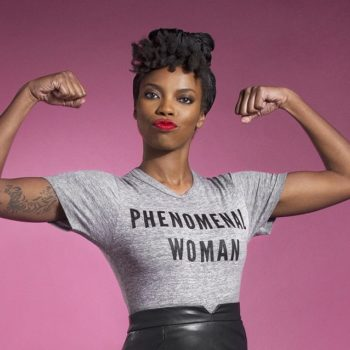 """Here's where to buy those """"Phenomenal Woman"""" shirts you've been seeing everywhere"""