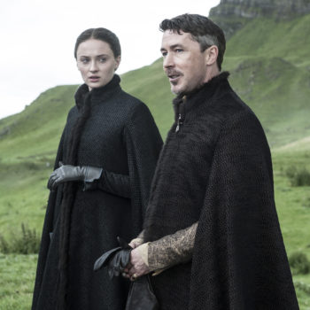 "Littlefinger needs to stop being creepy AF in this new ""Game of Thrones"" image"