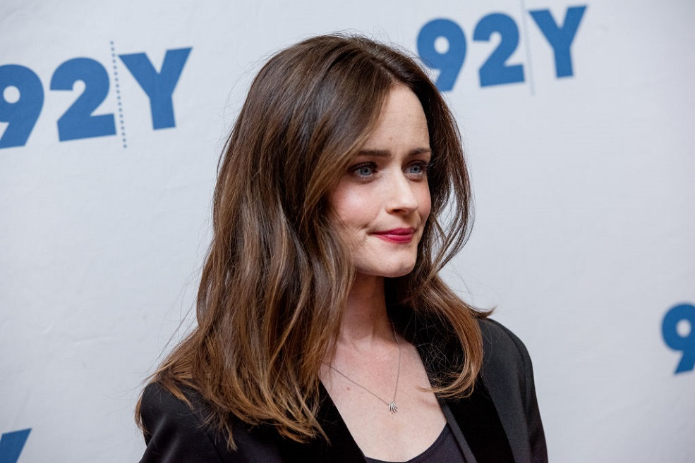 "Alexis Bledel revealed why she was scared while filming ""The Handmaid's Tale"""
