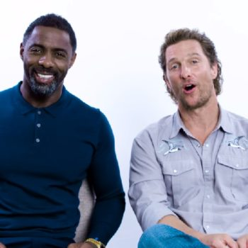 Matthew McConaughey and Idris Elba answered the most-Googled questions about themselves