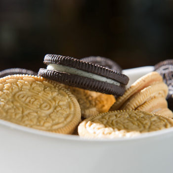 Oreo might be meeting us in the cafeteria with a peanut butter and jelly flavor