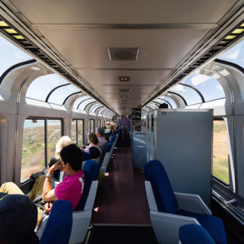 You can take one of America's most breathtaking train rides for only $97