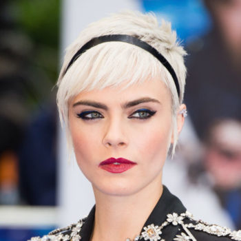 Cara Delevingne's Millennial pink pixie cut is our new favorite hair trend