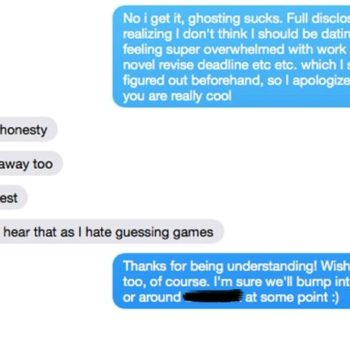 This woman sent THE BEST text to a guy who made her feel uncomfortable on a date